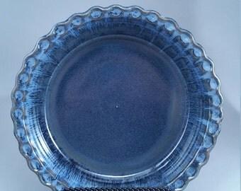 Stoneware Pie Plate, Casserole Dish, Bakeware, Kitchen Decor