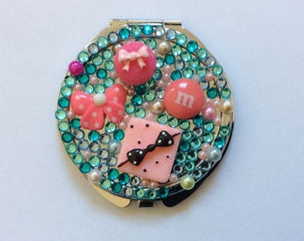 Sweet Candy Bling Bling Mirror