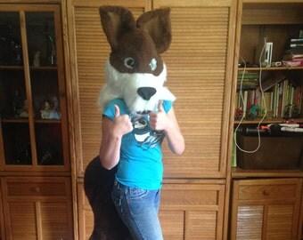 Fox Fur head & tail