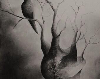 "11"" x 17"" Fine Art Digital Print of original artwork by Megan Cash"