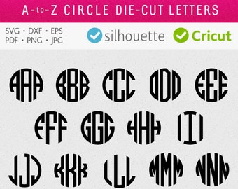 "Shop ""monogram circle svg"" in Framing"