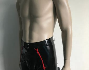 Men's boxer with zippers