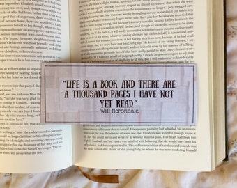 The Infernal Devices Will Herondale Shadowhunter Quote Bookmark