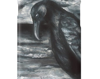 Alone in the Darkness Crow iPhone Case
