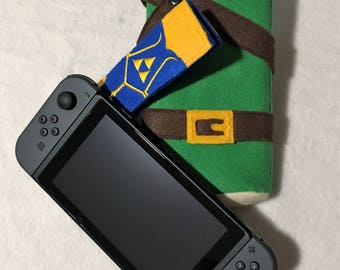 Nintendo Switch Case Switch Case Classic Link Tunic Switch Case Legend of Zelda Switch Case Nintendo Switch Sleeve Switch Sleeve