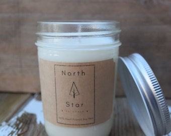 Scented 100% Soy Candle
