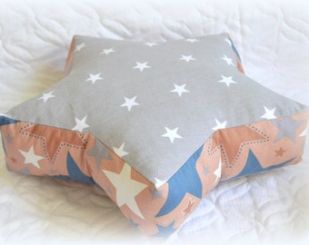 Star, Pillow Star, textiles to the nursery