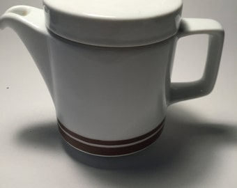 Coffee jug efficient brown, Mitropa dishes