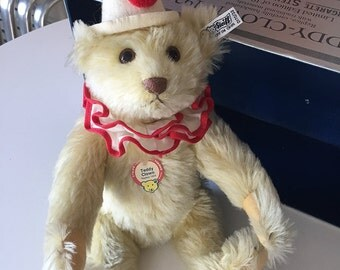 Collectible Limited Edition Replica of 1926 Steiff Teddy Bear Clown