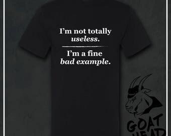 Bad Hombre, Bad Ass, Humor Shirts, Sarcasm, Sarcastic, Sarcastic Tshirt, Funny Tshirt, Bad Tags, Mens Funny Tshirt, Mens Gift, T-shirt, Tee