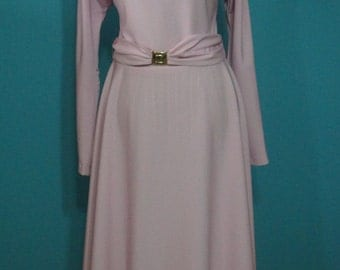 1970's Alfred Werber Long Sleeve Dress