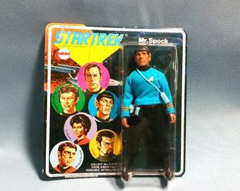 1974 First Series Mego Spock Action Figure, Star Trek
