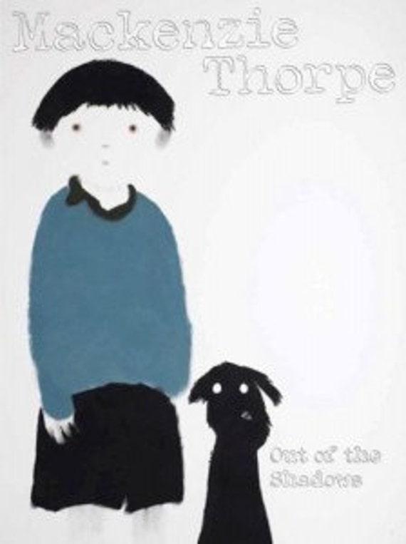 Book autographed Mackenzie Thorpe