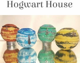 4 House Inspired Bath Bombs