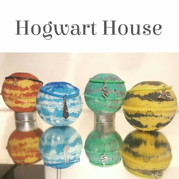 4 House Inspired Bath Bombs
