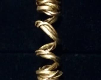 Brass Dreadlock Jewelry #18