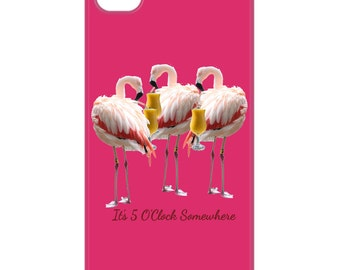 Flamingo Cell Phone case, iPhone, android, Samsung, protect your cell phone from falls and danger, cell phone cover, unique cover