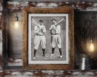 Ty Cobb and Joe Jackson Photo, Baseball Photos, Detroit Tigers, Chicago White Sox, Major League Photos, Sports Teams