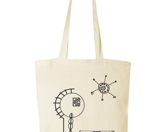 bag with screen printing