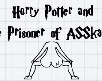 Harry potter decal - ASSkaban