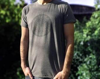Mens Fairtrade & Organic T-Shirt Hippie Mandala Print