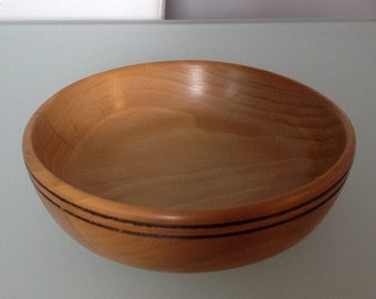 Hand Crafted Small Beech Bowl