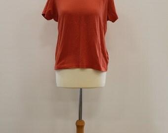 Plain T-Shirt (Orange)
