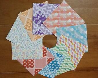 Small Envelopes - Handmade Envelopes - Origami Paper - Set of 10