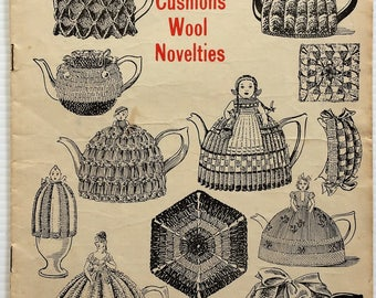 Vintage 1930's Madame Weigel knitting and crochet book - tea cosies, afghans, cushions, novelties