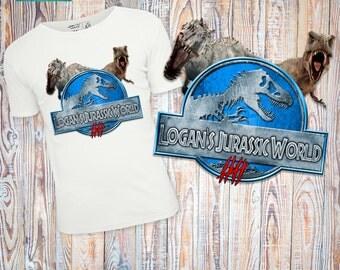 Jurassic world personalized printable t-shirt, jurassic world digital t-shirt, jurassic world party, jurassic world birthday, jurassic park