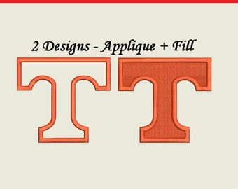 Tennessee Vols Embroidery Design - 2 designs each comes in separate file