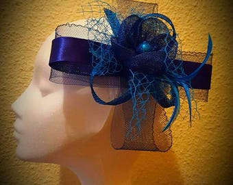 Dark blue Headdress