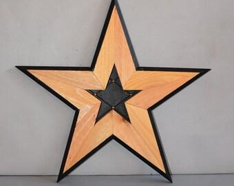 Wooden Star 5127