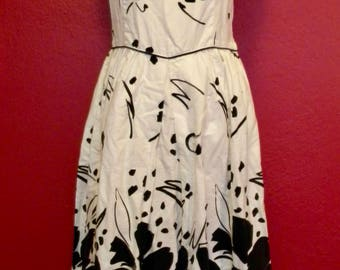 Vintage Lanz Black/White Summer Dress