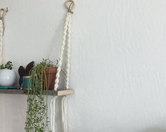 Macrame Shelf 2