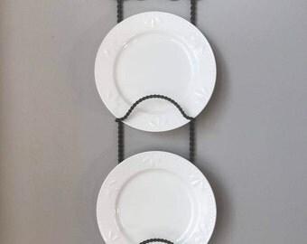 Vintage Iron Plate Rack
