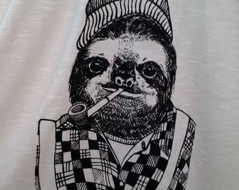 Lumberjack Luke Sloth T-shirt