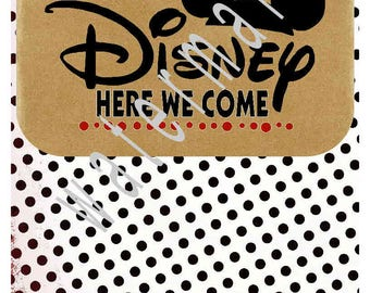 DISNEY SVG - Disney vacation shirts - Disney - silhouette cameo cricut - Disney VACATION svg T shirt transfer Disney Here we come Jpeg shirt