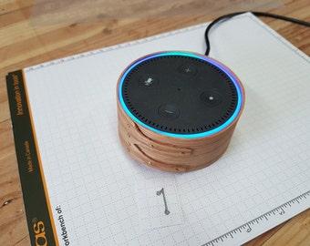 Shaker box style Amazon Echo Dot accessory