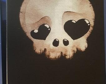 Custom skull t shirt