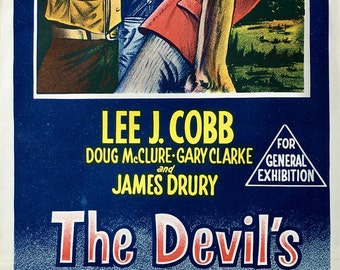The Devil's Children Vintage Movie Poster