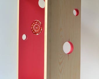 Woolen Storage - Shelving Ideas - Wall Shelving - Wood Shelving - Wooden Shelves - Farmhouse Shelving - Bohemian Decor - Unique