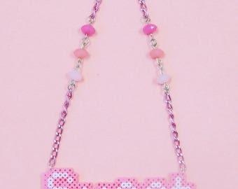 "Kawaii Pixel ""Sweet"" Necklace"