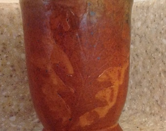 Oak leaf tumbler 1