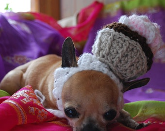 Cupcake Hat for Dog or Cat