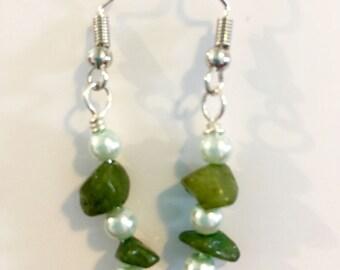 Shady Greens earrings