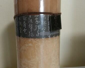Pillar Candle Scented Vanilla Bean