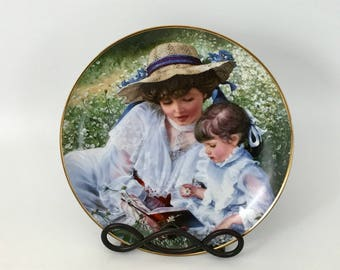 "Sandra Kuck's ""Once Upon A Time"" Collector's Plate"