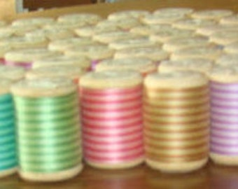 SALE 60 Spools of Dual Color Embrodiary Thread