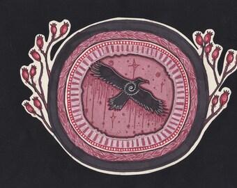 Rose Hip Raven Original